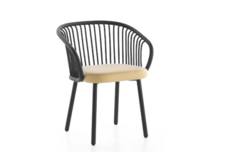 Huma dining armchair with metal legs T070 M  by  Expormim