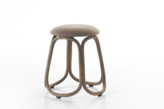 Gres low barstool T087  by  Expormim