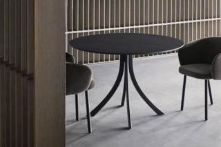 Falcata Indoor round dining table T934 R  by  Expormim