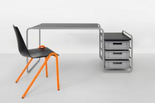 Desk Hommage à Marcel Breuer  by  Schellmann Furniture