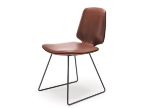 Tilda chair with skid frame  by  Freifrau