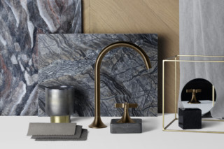 VAIA dark brass matt  by  Dornbracht