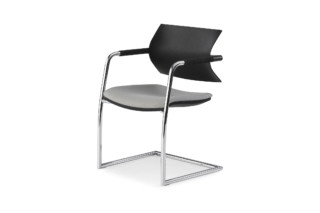 Vanilla cantilever chair  by  Fantoni