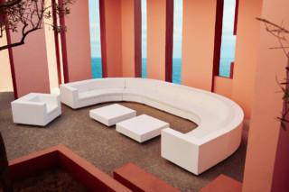 Vela Sofa rund  von  VONDOM