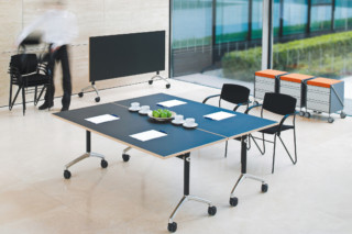 Working desk system LET`S TALK Flip  by  VARIO