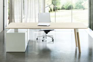 Woods office system  by  Fantoni