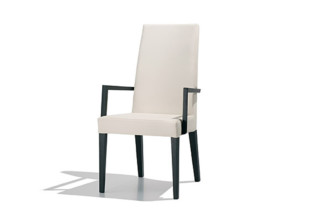 Anna Luxe chair with armrests  by  Andreu World