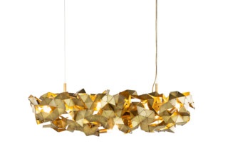 Fractal Chandelier oval  by  Brand van Egmond