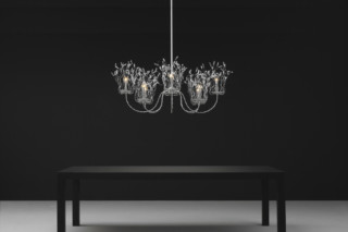 Candles and Spirits Chandelier oval  von  Brand van Egmond