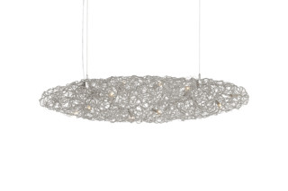Crystal Waters Hanging Lamp Cigar  by  Brand van Egmond