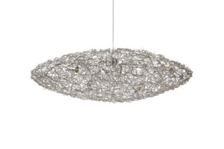 Crystal Waters Hanging Lamp Ufo  by  Brand van Egmond
