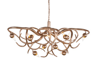 Eve Chandelier oval  by  Brand van Egmond