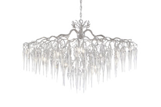 Hollywood Chandelier Glass oval  by  Brand van Egmond