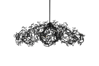 Icy Lady Chandelier Oval  by  Brand van Egmond