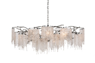 Victoria Chandelier Oval  by  Brand van Egmond