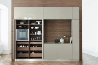 bulthaup b3 rotary sliding door cabinet  by  bulthaup