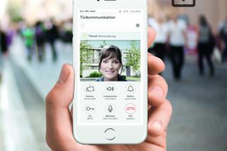 Gira mobile door communication  by  Gira