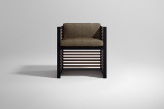 DNA Teak armchair  by  Gandia Blasco