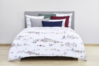 Wintermorgen bed linen  by  Christian Fischbacher