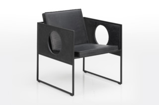 Grace armchair with cut-outs  by  Brühl