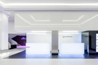 Ilunion Suites Madrid 4401. Pink Light, 4102. Extreme Light  by  KRION