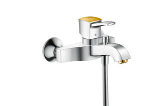 Metropol Classic bath mixer exposed  by  Hansgrohe