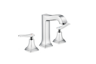 Metropol Classic 3-hole washbasin lever high  by  Hansgrohe