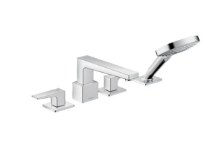 Metropol 4-hole Bath Mixer  by  Hansgrohe