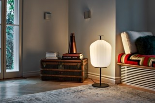 Plissée Floor Lamp  von  ClassiCon