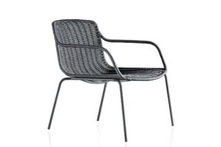 Lapala Niedriger Sessel mit Polyesterseil C591T  von  Expormim