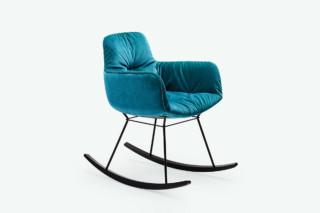 Leya Rocking Chair Small  von  Freifrau