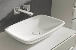 Surface-mounted washbasin square Loop & Friends  by  Villeroy&Boch Bath&Wellness