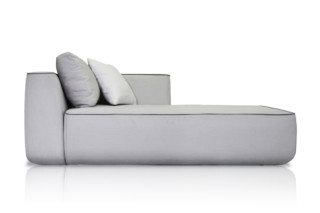 Plump right chaise longue module C874  by  Expormim