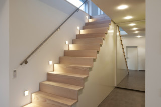 Douglas/Oak stairs  by  Pur Natur