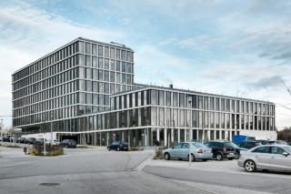 concrete skin, TechBase Regensburg  by  Rieder