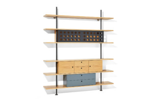 Eiermann shelf  by  Richard Lampert