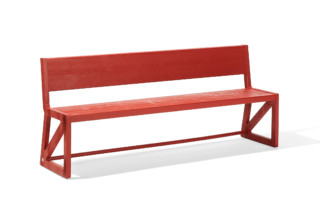 Stijl bench  by  Richard Lampert