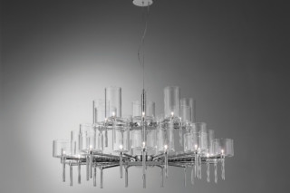Spillray chandelier 30  by  Axolight