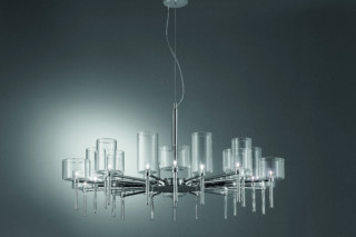 Spillray chandelier 20  von  Axolight