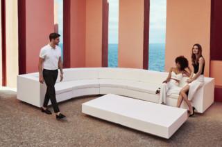 Vela Sofa round  by  VONDOM