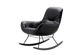 Leya rocking lounge chair  by  Freifrau