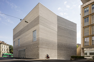 Kunstmuseum Basel's new building  by  Petersen Tegl