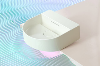 SaphirKeramik Sonar Washbasin bowl  by  Laufen