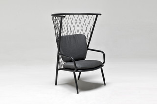 Nef High-back armchair  by  Emu