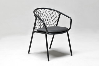 Nef easy chair with armrests  by  Emu