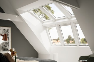 Light solutions with additional headroom  by  VELUX