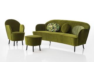 Floret dreisitziges Sofa  von  Brühl