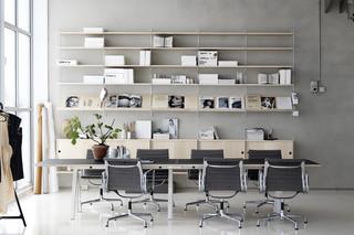 string® works conference desk  by  string furniture
