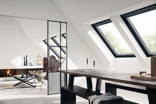 """Schwingfenster """"GGU Black""""  von  VELUX"""