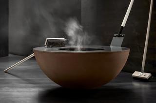 Feuerring steel scraper & broom  by  Feuerring